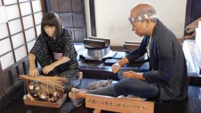 Tokyo - Urayasu - Reconstitution d'une scène d'époque dans une maison ancienne
