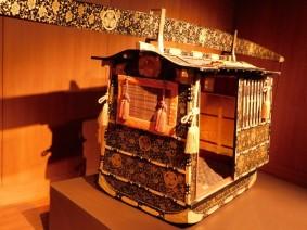 Nagoya - Château - Musée, chaise à porteur