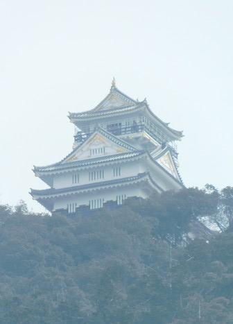 Gifu - Zoom sur le château