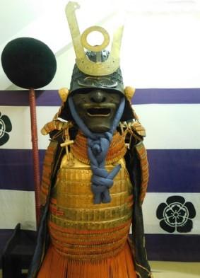 Gifu - Château - Musée, samouraï