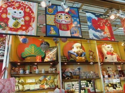 Tokyo - Quartier Shinjuku - Boutique de souvenirs