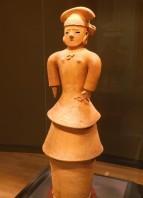 Tokyo - Parc de Uneo - Musée national - Période archéologique - sarcophage