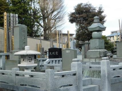 Tokyo - Parc de Uneo - Temple Kaneiji, cimetière