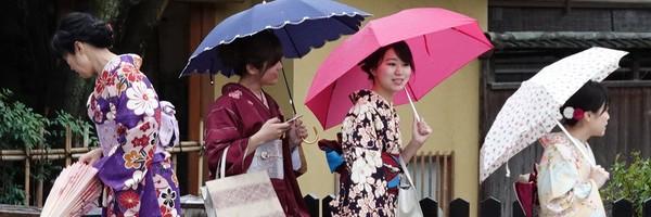 Quatre jours sous la pluie àKyoto…