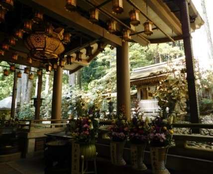Koyasan - Oku-no-in - Mausolée de Kukaï