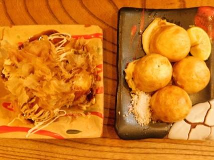 Osaka - Déjeuner de takoyaki