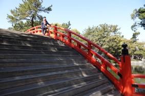 Osaka - Temple Sumiyoshi-Taisha - Pont Taikobashi