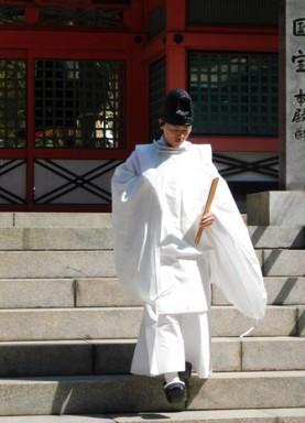 Osaka - Temple Sumiyoshi-Taisha - Mariage