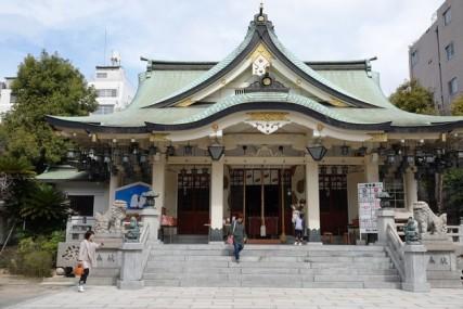 Osaka - Namba Yasaka Jinja Shrine