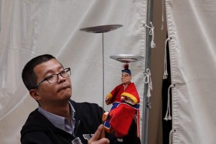 Osaka - Namba Parks - Animation taïwanaise - Marionnettes