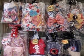 Osaka - Rue Dotonbori - Magasin de kimonos pour chiens (oui, vous avez bien lu !)