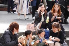 Osaka - America-mura - AMbiance familiale !