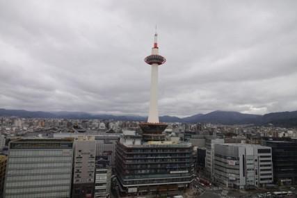 Gare de Kyoto - Vue sur la Tour
