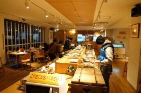Kyoto - Resto-buffet non loin de notre studio