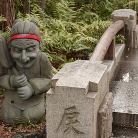 Kyoto - Non loin du Centre textile Nishijin, temple de quartier
