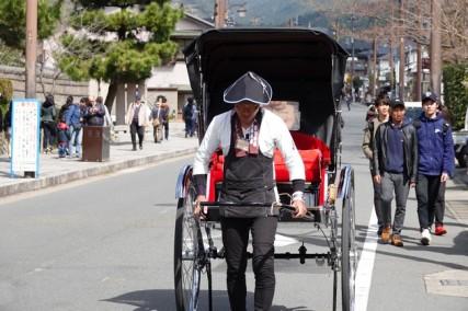 Kyoto - Arashiyama - Vers la bambouseraie
