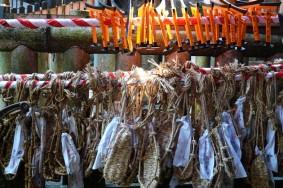 Sanctuaire Fushimi Inari Taisha - Sandales en corde votives...