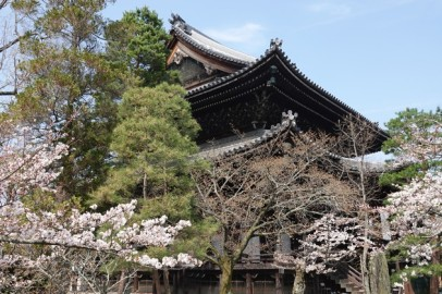 Kyoto - Temple Chion-in - Bâtiment annexe