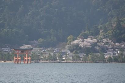 Ile de Miyajima - Vue depuis le ferry