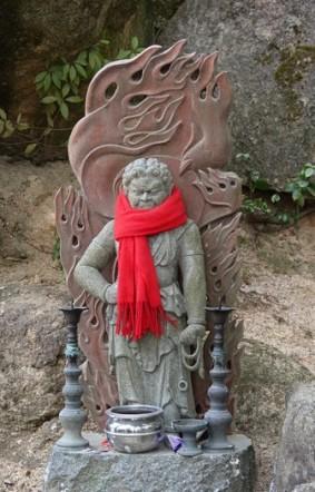 Ile de Miyajima - Petit temple situé juste avant le sommet du Mont Misen