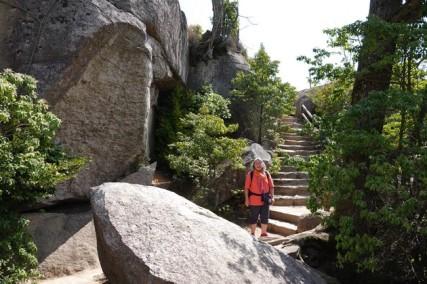 Ile de Miyajima - Vers le Mont Misen