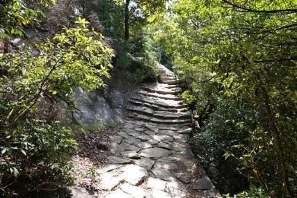 Ile de Miyajima - Chemin depuis le Mont Misen