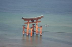 Ile de Miyajima - Vue en redescendant du Mont Misen