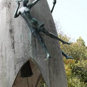 Hiroshima - Monument des Enfants pour la Paix
