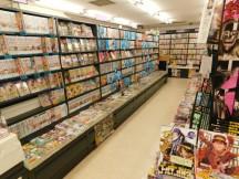 Nagoya - Centre commercial Central Park - Librairie de mangas