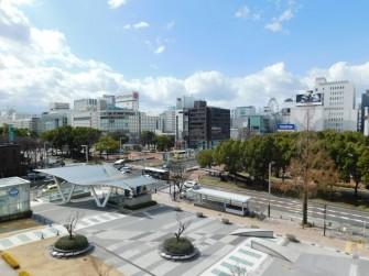 Nagoya - Oasis 21 - Le jardin