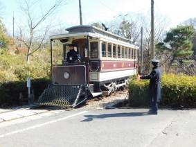 Inuyama - Musée en plein air Meiji Mura - Tramway autrefois en service à Tokyo