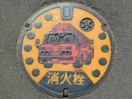 Hongu Taisha - Belle plaque d'égout !