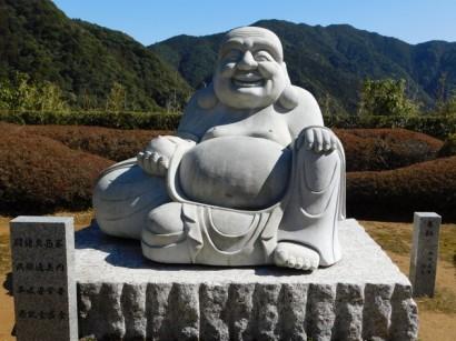 Sanctuaire de Kumano Nachi Taisha - Pagode - Bouddha installé non loin