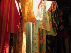 Musée du Style de vie dans l'ancien Osaka - Kimonos