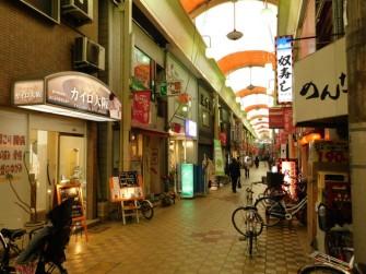 Osaka - Quartier de Kita - Rue couverte