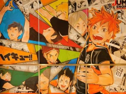 Osaka - Quartier de Kita - Uemda - Centre commercial HEP FIVE - Encore un mur de mangas !