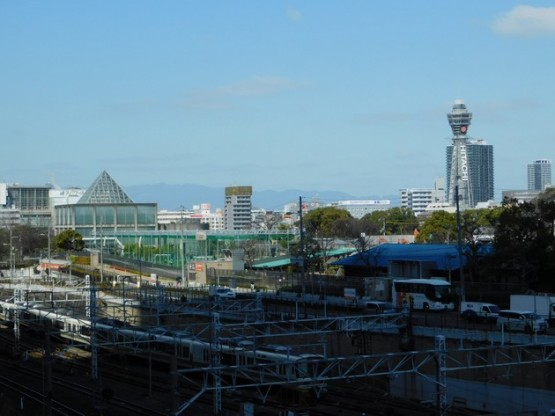 Osaka - Non loin de la gare de Tennoji