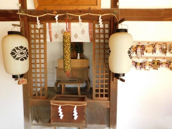 Nara - Petit temple, non loin du Toadai-ji