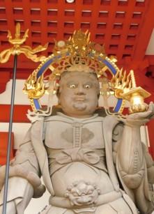 "Koyasan - Garan - Gardien du Chomon, la ""porte d'entrée"" du temple"