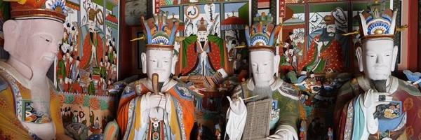 Temple et randonnée àHaeinsa