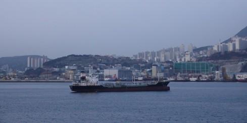 Busan - Arrivée au port
