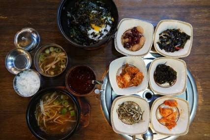 Busan - Premier déjeuner coréen !