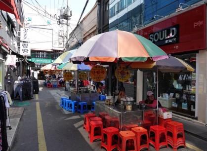 Busan - Quartier de Nampo, non loin de BIFF Square