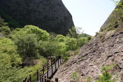 Parc provincial Maisan - Vers le col