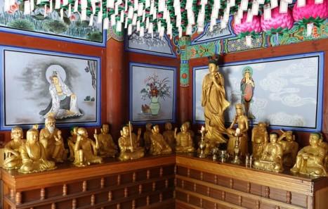 Parc provincial Maisan - Temple Eunusa