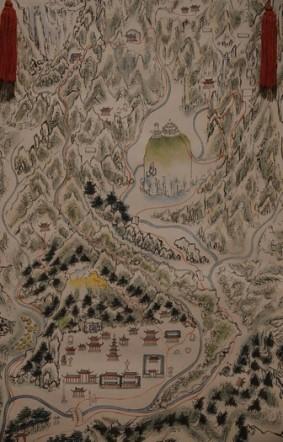 Séoul - Musée national du Palais impérial Gyeongbokgung - Peinture