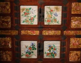 Séoul - Musée national du Palais impérial Gyeongbokgung - Meuble