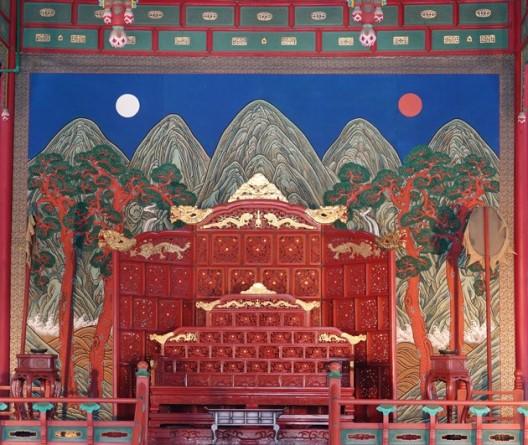 Séoul - Palais impérial Gyeongbokgung - Salle du trône