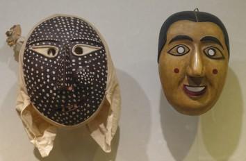 Séoul - Palais impérial Gyeongbokgung - Musée national Folklorique - Masques