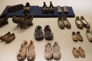 Séoul - Palais impérial Gyeongbokgung - Musée national Folklorique - Chaussures traditionnelles